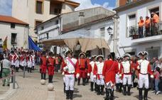 El izado de banderas en Romangordo abre hoy los actos de la XV Ruta de los Ingleses