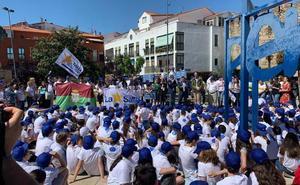 Escolares de La Salle celebran su 300 aniversario en Plasencia