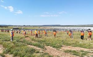 Extremadura tiene actualmente doce plantas fotovoltaicas en construcción