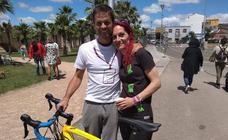 Podemos y la 'Bici-limonada' en Badajoz