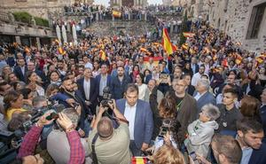 Vox se exhibe en Cáceres