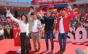 El PSOE se gusta en Mérida y ve segura su victoria