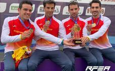 Álvaro Martín revalida el título con España