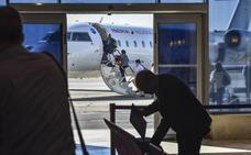 Los pasajeros del aeropuerto de Badajoz crecen un 70% desde la entrada en vigor del Servicio Público