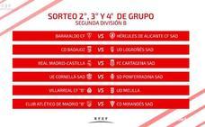 El Logroñés, rival el Badajoz en la primera fase del playoff a Segunda