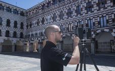 Comienzan las obras para recuperar las fachadas de las Casas Coloradas