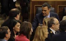 El PSOE se hace con la Mesa del Congreso sin la ayuda de los independentistas