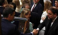 Junqueras a Pedro Sánchez en el Congreso: «Tenemos que hablar»
