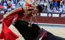 Gonzalo Caballero, herido grave en Las Ventas