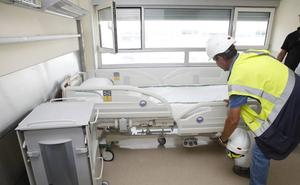 El día 28 abren las Urgencias y comienza la hospitalización en el Universitario de Cáceres