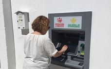 Barbaño estrena los cajeros de la Diputación de Badajoz
