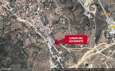 Herido grave tras caer de una altura de cuatro metros en un accidente laboral en Logrosán