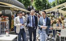 Pedro Duque destaca las «iniciativas entusiastas» de Cabezas para Badajoz