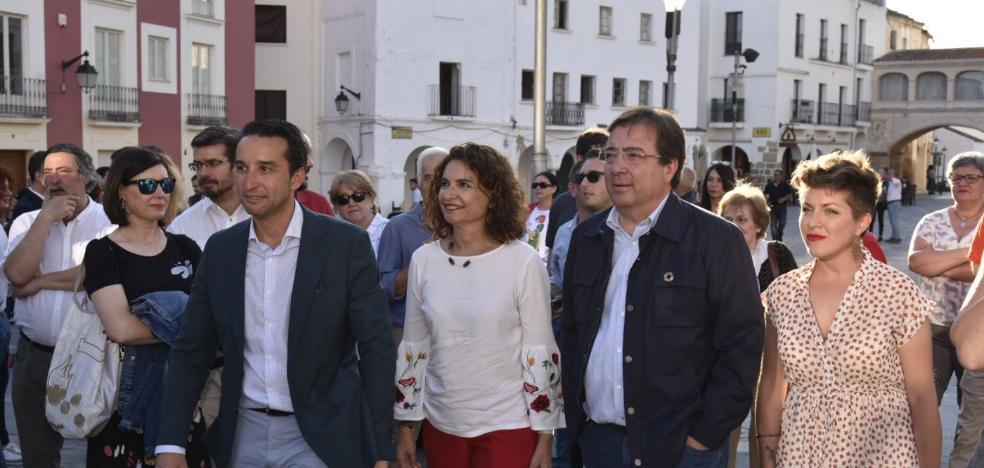 El mitin no caduca en la Extremadura vaciada