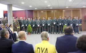 Mañana se homenajea a los guardias civiles cacereños retirados