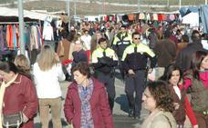 Detenidas cinco mujeres de Sevilla por hurto de carteras en el mercadillo de Mérida