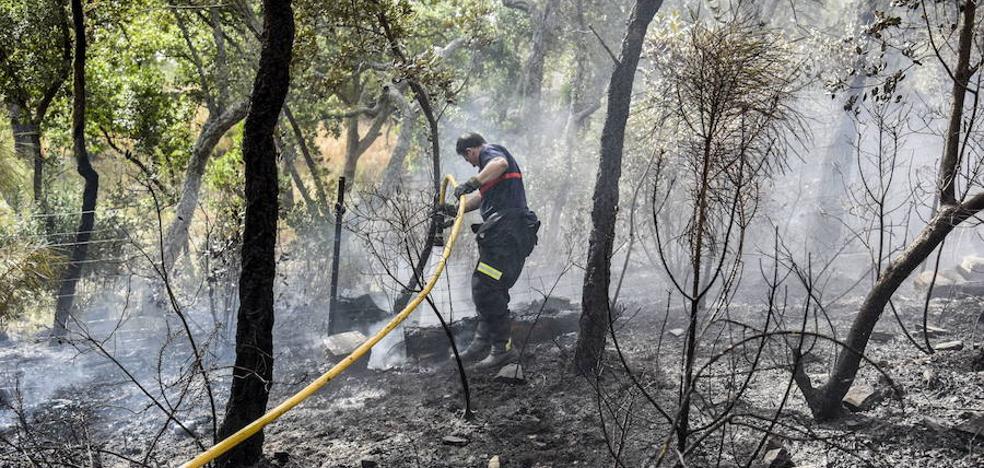 La Guardia Civil detuvo en 2018 a cinco personas relacionadas con incendios