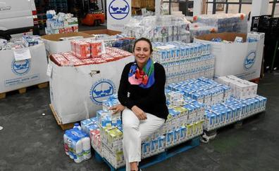 Los Bancos de Alimentos extremeños inician la gran recogida de leche