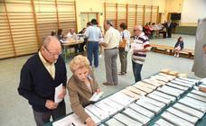Jornada electoral en Plasencia