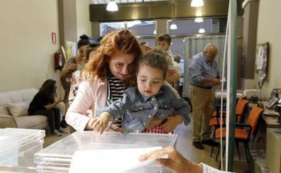 La participación en las autonómicas en Extremadura es similar a la de 2015 a las 14.00 horas