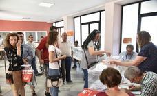 Jornada electoral de Badajoz