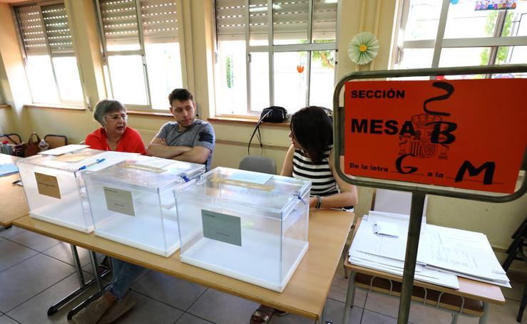 Jornada electoral en Mérida