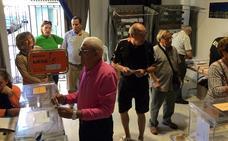 Los candidatos a la Alcaldía de Badajoz se reparten los barrios