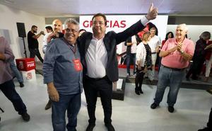Vara gana en Extremadura con mayoría absoluta