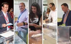 Los candidatos a la Junta de Extremadura piden llenar las urnas