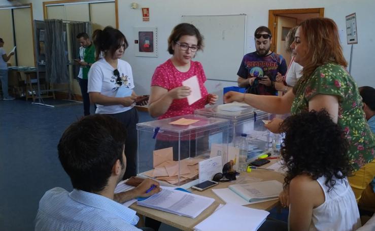 Jornada electoral en Cáceres