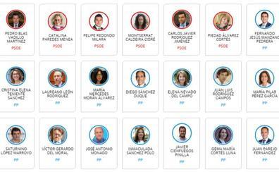 Conoce a los nuevos diputados de la Asamblea de Extremadura