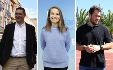 Juancho Pérez, Carla Nascimento y Javier Cienfuegos, del deporte al escaño