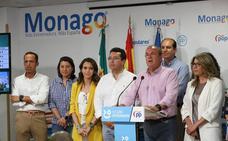 Monago resalta la subida sobre las generales, descarta dimisiones y asegura que el partido está para «muchos años»