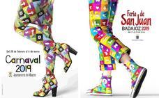 El autor del cartel de la Feria de San Juan de Badajoz replica la idea de varios concursos que ha ganado