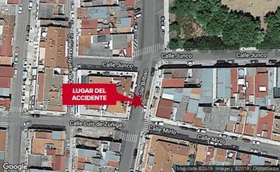 Atropellan a un menor en la calle Bilbao de Badajoz