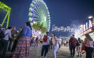 Niños, familias y jóvenes toman la feria de Cáceres