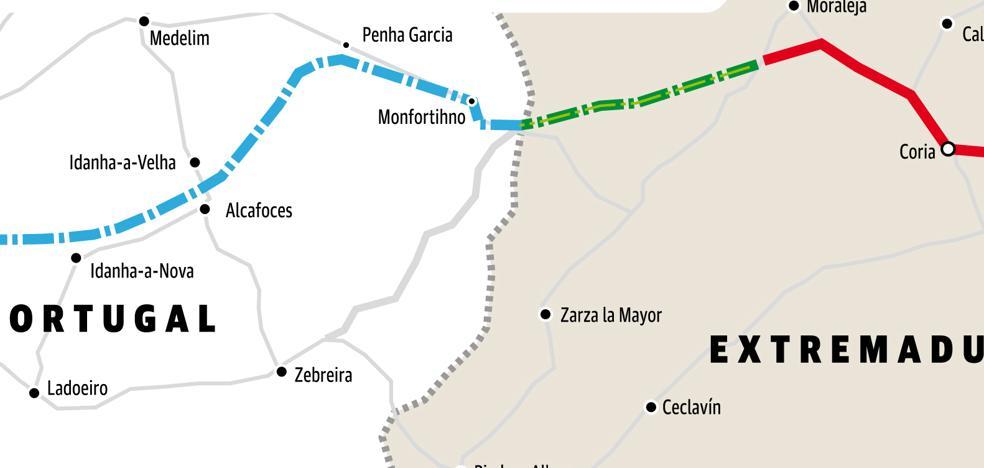 La Junta retomará el diálogo con Portugal para acabar la autovía Ex-A1