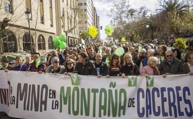 El expediente de la mina en Cáceres sigue activo pese a la resolución de nulidad de la Junta