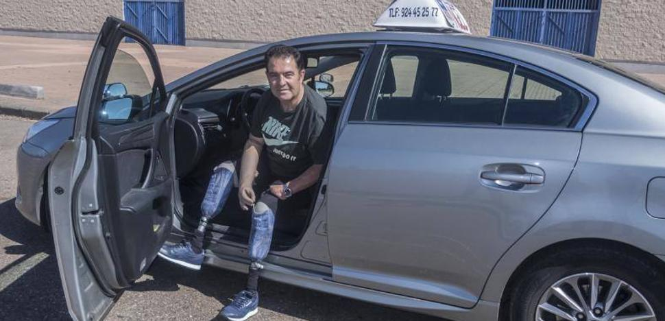 José María Riñones ya puede conducir