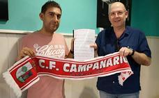 Andrés Ángel Blanco 'regala' el himno al CF Campanario