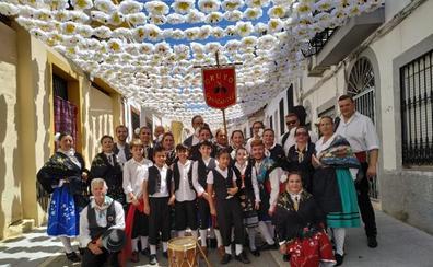 Casas de Don Pedro se engalana para celebrar el Día de La Siberia