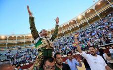 Ferrera abre la puerta grande en Madrid
