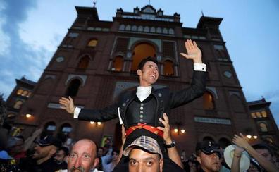 El extremeño Leonardo Hernández sale a hombros en Madrid