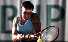 Los tatuajes de Aliona Bolsova, la nueva leona del tenis español
