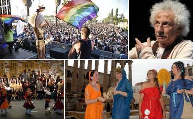 Los Palomos toman Badajoz mientras los clásicos brillan en Cáceres y Mérida regresa a la época romana