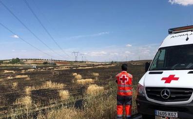 Controlado un incendio forestal de nivel 1 de peligrosidad en Calzadilla de los Barros