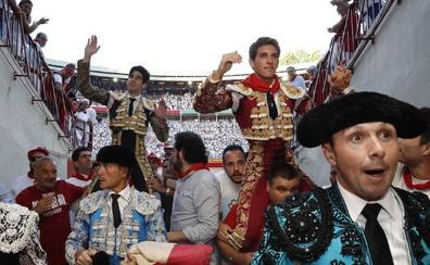 Ferrera, Perera, De Justo, Garrido, Ginés y Leonardo, presentes en San Fermín