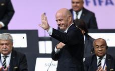 Infantino, reelegido presidente de la FIFA hasta 2023