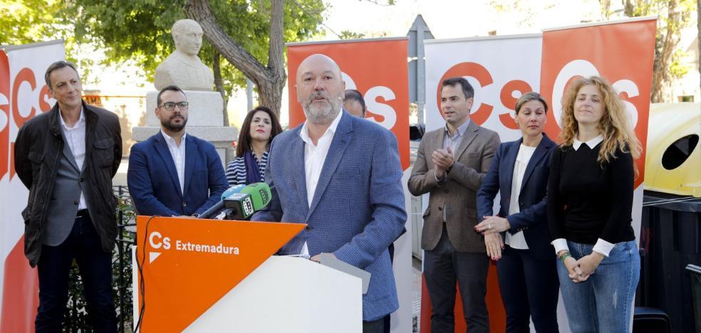 Las bases de Ciudadanos en Cáceres prefieren un gobierno con el PSOE