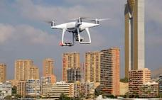 Juego de drones, proteger el cielo